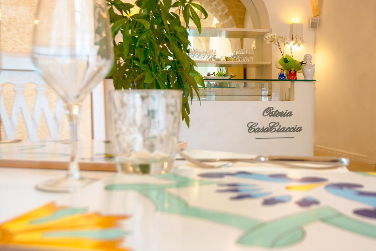Osteria CasaCiaccia, Cucina ostunese, passione pugliese