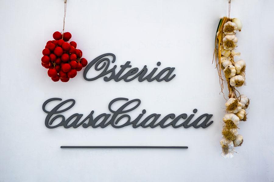 Home page Osteria CasaCiaccia